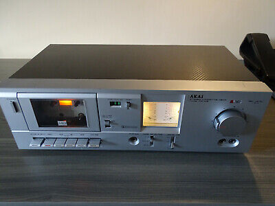 £90 • Buy Vintage Akai Cassette Deck CS-M3, Serviced + 3 New Belts Fitted, Great W/c Retro