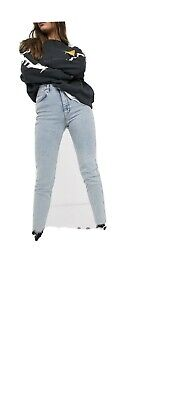 £7 • Buy Pull And Bear Mom Jeans 8