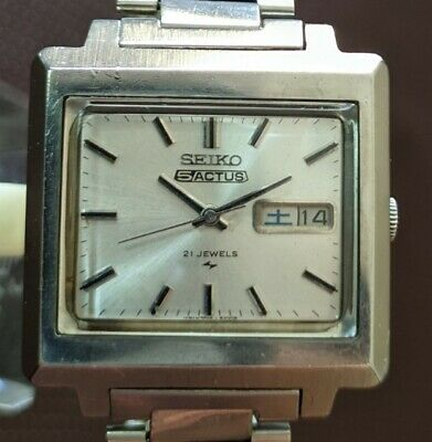 $ CDN205.69 • Buy Seiko 5 Actus Automatic 7019-5070 Day And Date Vintage Men's Watch