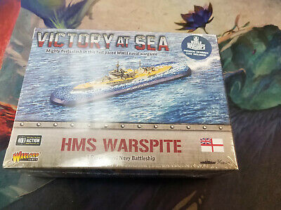 £21.29 • Buy Victory At Sea: HMS Warspite Battleship Brit Navy Game Models WWII Warlord Games