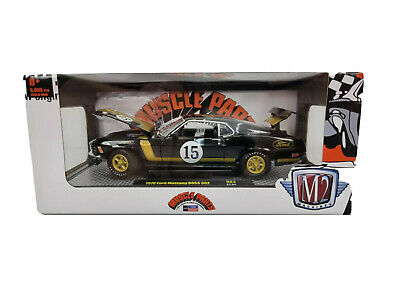 $47.99 • Buy M2 Machines 1:24 1970 Ford Mustang Boss 302 Chase R84