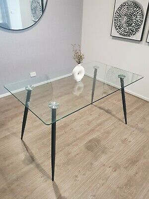 AU180 • Buy Glass Dining Table 6 Seater