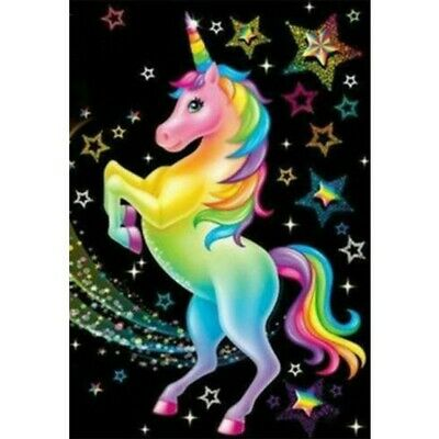 AU13.64 • Buy Diamond Painting Full Drill 5D Colorful Unicorn Home Decor Gifts Kits Art Gifts