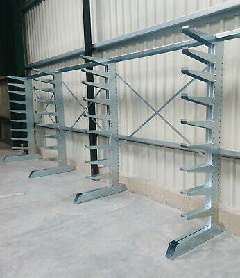 £525 • Buy Nukeson Industrial Heavy Duty Steel Timber Cantilever Racking Storage Shelving