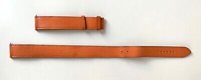 £130 • Buy Hermes Leather Watch Strap Double Tour 21mm