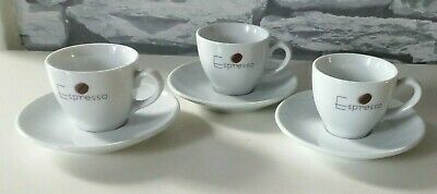 £12.99 • Buy Vintage Mitterteich Bavaria Expresso  Coffee Cups And Saucers X 3