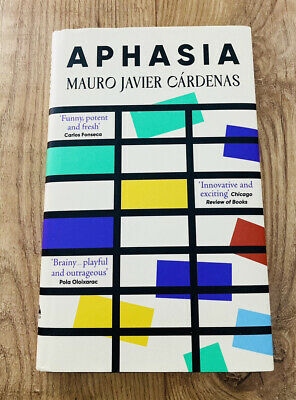 £11.99 • Buy Aphasia By Mauro Javier Cárdenas Hardcover Book - New - Free UK Postage