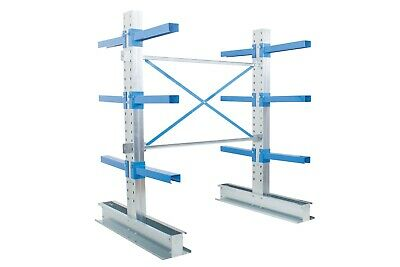 £1418.04 • Buy Double Sided Cantilever Warehouse Racking - Starter & Extension Bays
