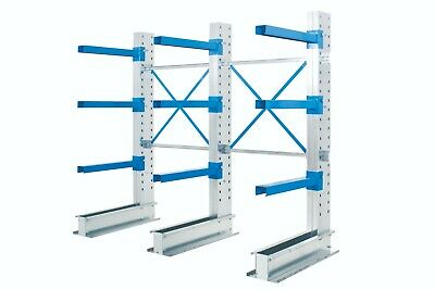 £1520.39 • Buy Single Sided Cantilever Racking - Run Of 2 Bays