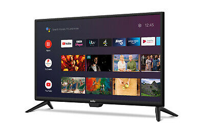 £219.99 • Buy CELLO 24 INCH 12v SMART TV ANDROID WITH GOOGLE 12 VOLT CARAVAN TV