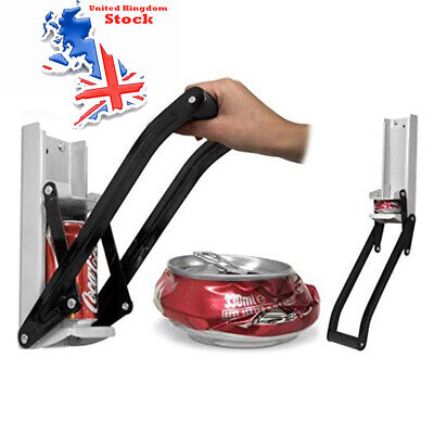 £10.52 • Buy Can Crusher Recycling Tool 16OZ 500ml Wall Mounted Beer Tin Bottle Opener Tool