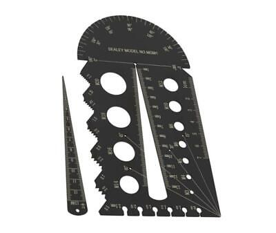 £12.78 • Buy Sealey METRIC Drill Bit & Bolt Screw Tap Thread Pitch Size Gauge Guide MGM1