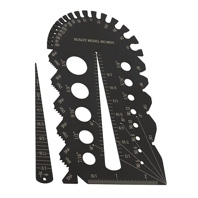 £13.18 • Buy Sealey IMPERIAL Drill Bit & Bolt Screw Tap Thread Pitch Size Gauge Guide MGI1