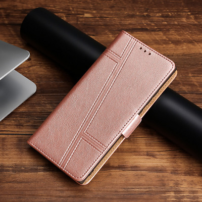 AU12.99 • Buy For OPPO A3 A3S Case Luxury PU Leather Magnetic Card Wallet Flip Case Cover