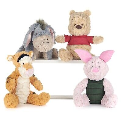 £19.99 • Buy 30cm Winnie The Pooh Fluffy Soft Toy - Choose From Pooh Tigger Eeyore Or Piglet