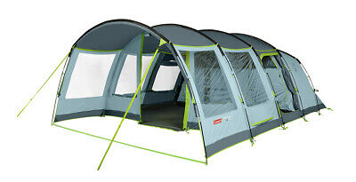£548 • Buy Coleman 2021 Meadowood 6 Man Large Spacious Family Tunnel Tent Blackout Bedrooms