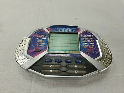 £8.52 • Buy Who Wants To Be A Millionaire Hand Held Electronic Game Tiger Electronics