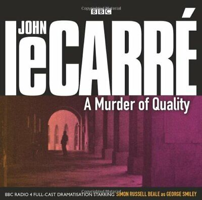 £3.99 • Buy A Murder Of Quality By John Le Carre CD Audio New/unsealed