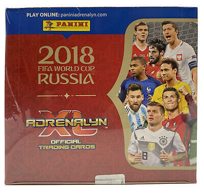 $ CDN71.65 • Buy 2018 Panini Adrenalyn World Cup Russia 24 Pack Factory Sealed Box! MBAPPE RC YR!