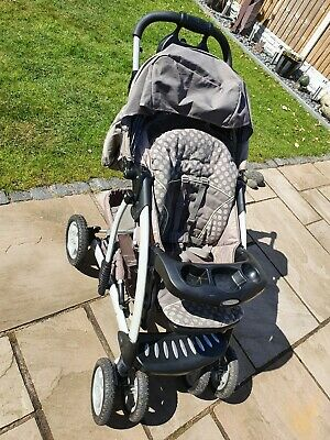 £59 • Buy Graco Tour Deluxe Pushchair Complete Set Inc Car Seat, Base, Carry Cot, Muff ++