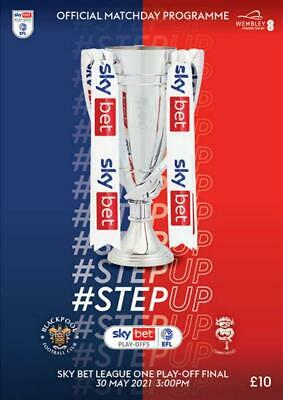 £14.99 • Buy * 2021 LEAGUE ONE PLAY-OFF FINAL - BLACKPOOL V LINCOLN CITY (30th May 2021) *