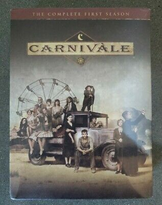 £13.44 • Buy Carnivale The Complete First Season One (DVD, 2004, 6-Disc Set) Sealed FREE SHIP