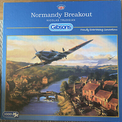 £5.99 • Buy Gibson Jigsaw 1000 Pieces. Normandy Breakout.