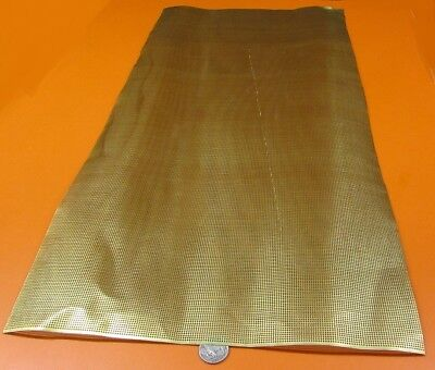 £69.58 • Buy Brass Perforated Extra Thin Sheet,  .016  Thick X 24  X Per Ft , .045  Hole Dia.