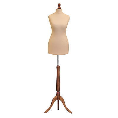 £35.20 • Buy ❤Size 8/10 Female Tailors Dressmaker Mannequin Bust Fashion Dummy Retail Display