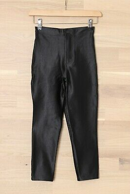 £29.99 • Buy New American Apparel XS Black The Disco Pant Stretch High Rise Skinny Fit