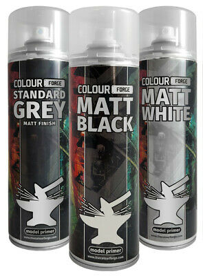 £9 • Buy The Colour Forge Spray Paints - 500ml Cans - Perfect For Warhammer & Wargaming!!