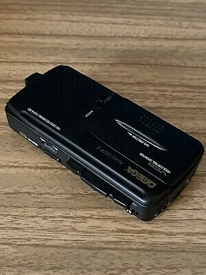 £25 • Buy Omega Microcorder - 3 MicroCassette Voice Recorder Dictaphone Dictation Machine