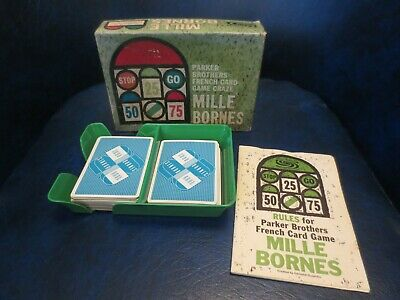 $19.99 • Buy Vintage Mille Bornes Parker Brothers French Card Game 1962