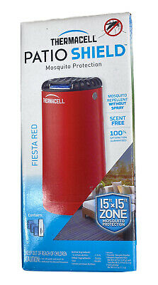 $21.50 • Buy THERMACELL MR-PSR Patio Shield Mosquito Repeller - Fiesta Red