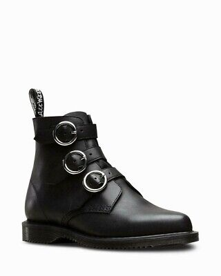 £74.99 • Buy Dr Martens Maudie Creeper Buckle Black Leather Boots UK 6