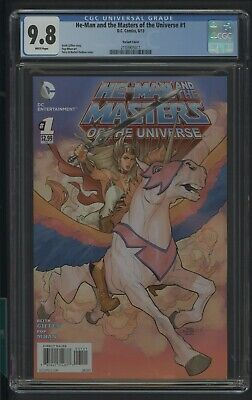 $1499.99 • Buy He-man & The Masters Of The Universe 1 Cgc 9.8 6/13 Variant Cover K.giffen Story