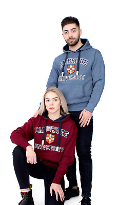 £21.99 • Buy Cambridge University Hoodie Official License Embroidered + Plain Free T-Shirt