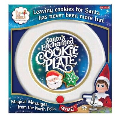 AU20.74 • Buy The Elf On The Shelf - Santa's Enchanted Cookie Plate NEW