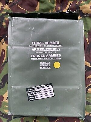 £35 • Buy MRE Italian Military Food Ration Survival Camping Pack MEAL Fishing Airsoft