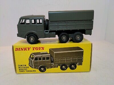 £105.49 • Buy Dinky Toys 818 Berliet 6x6 Covered Army Truck 1959-70 W/box Made In France MINT