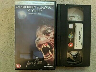 £7.99 • Buy An American Werewolf In London VHS Tape 21st Anniversary Special Edition