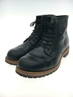 £140.37 • Buy Hawkins Lace-Up Leather Black Fashion Boots 8689 From Japan