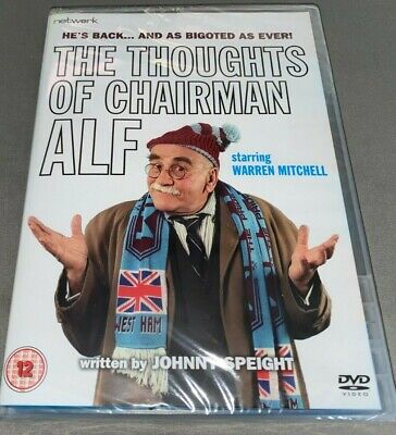 £7.49 • Buy The Thoughts Of Chairman Alf DVD He's Back... And As Bigoted As Ever! ITV NEW