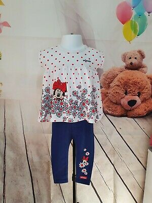 £3.50 • Buy Baby Girls 6-12 Months Disney Minnie Mouse Set