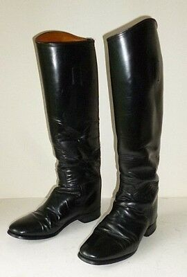 £80 • Buy HAWKINS Size 5 Leather Riding Boots Hunting Showing Leather Horse Riding Boots