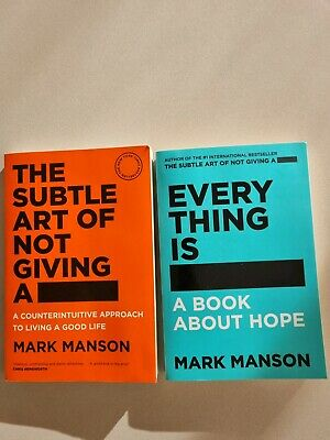 AU55 • Buy The Subtle Art Of Not Giving A F*ck , Everything Is F*cked Mark Manson