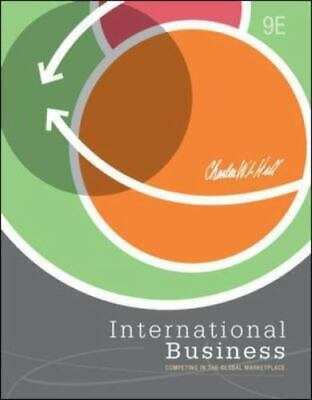 £4.18 • Buy International Business By Hill, Charles W. L. , Hardcover