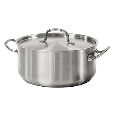 $ CDN63.55 • Buy Tramontina 80117/576DS Pro-Line Stainless Steel Covered Dutch Oven, 9-Quart,