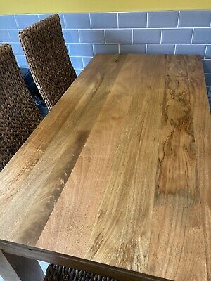 £225 • Buy Mango Wood Dining Table And Chairs