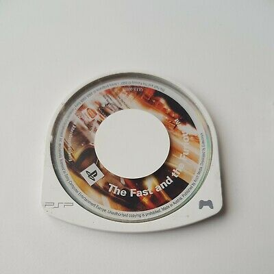 £6.50 • Buy Sony PSP UMD Game Disc The Fast And The Furious